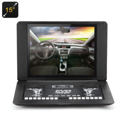 15 Inch Portable DVD with Copy Function_Feature