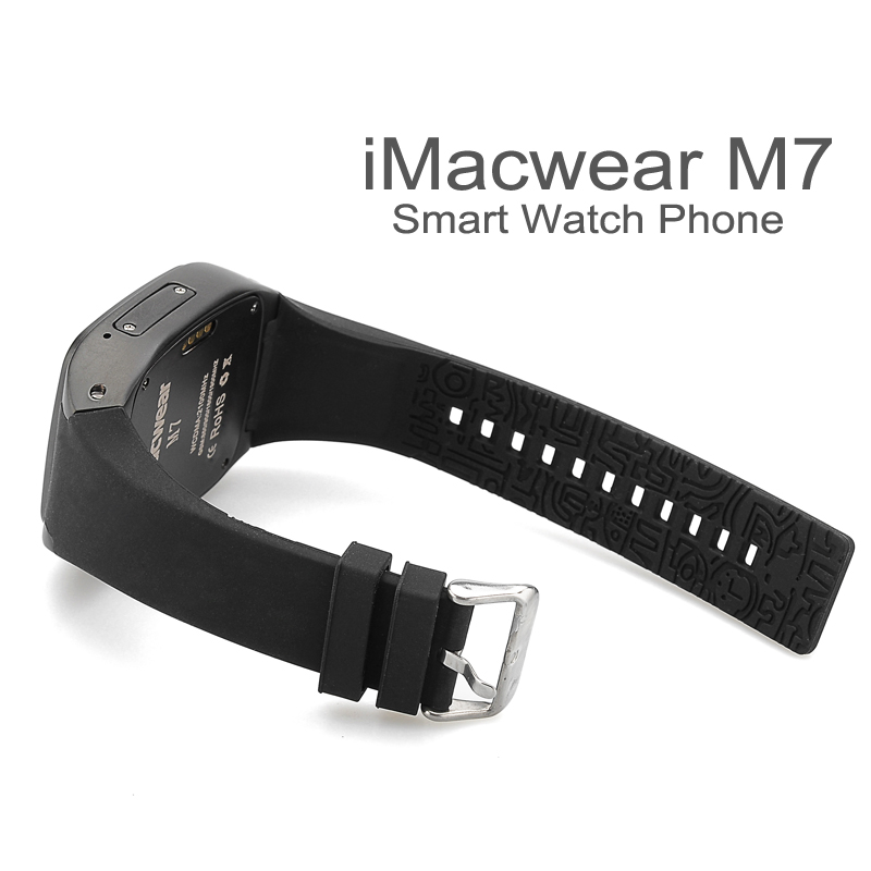 iMacwear SPARTA M7 Watch Phone (Black) - Image 4