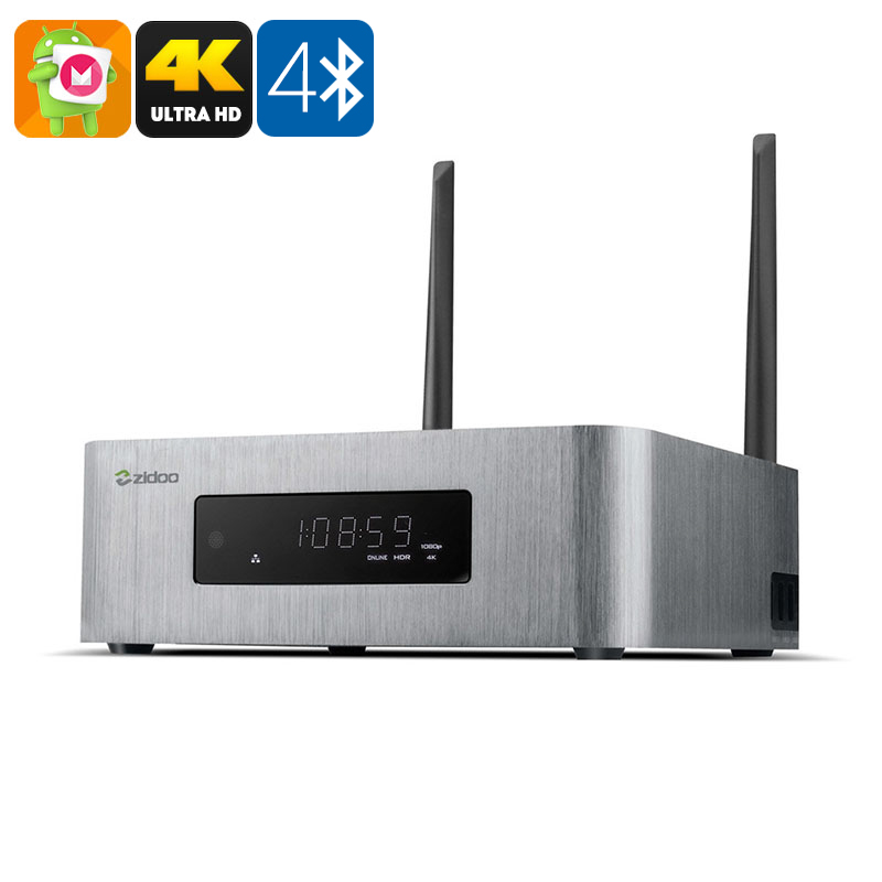 ZIDOO X10 Android TV Box - Feature Image