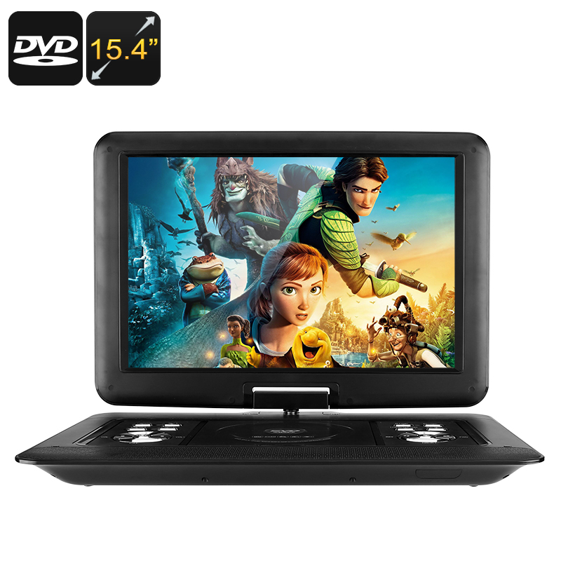 15.4-Inch Portable EVD / DVD Player - Feature Image
