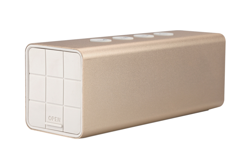 20W Bluetooth Speaker + Power Bank (Golden) - Image 2