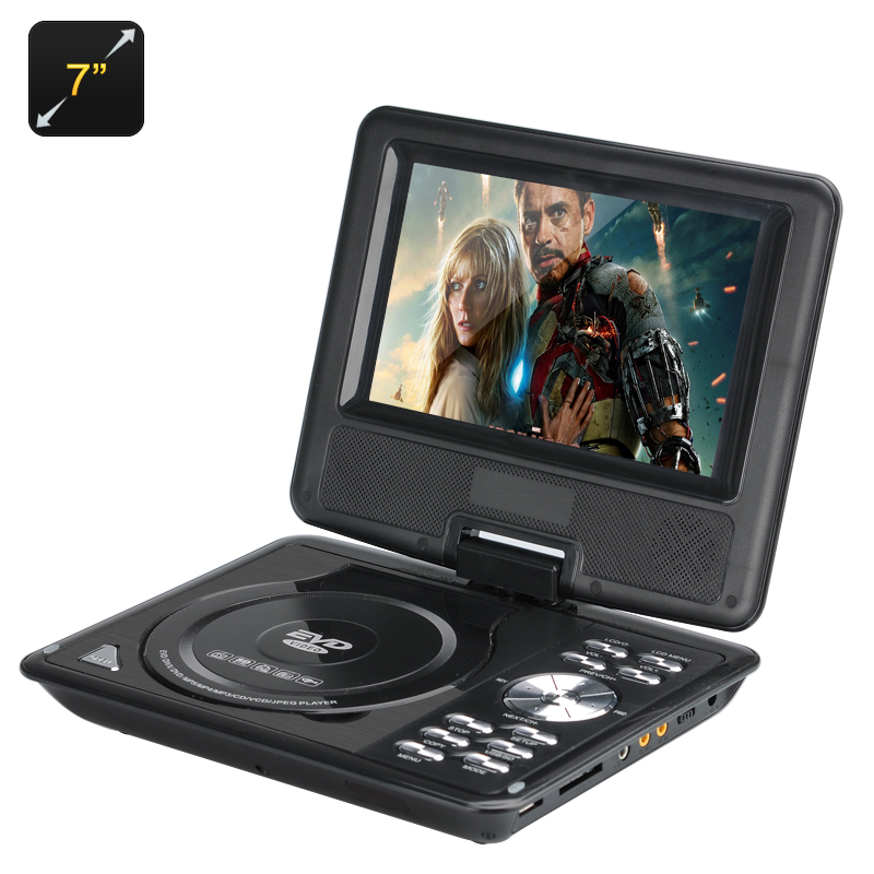 7 Inch Kids Portable DVD Player - Feature Image