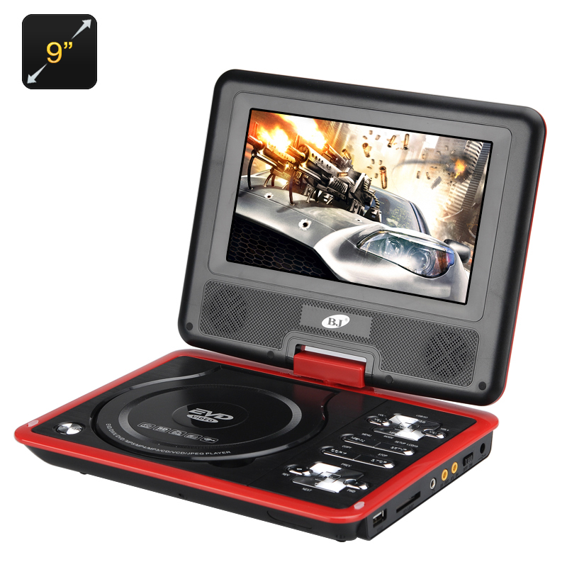 9 Inch Portable DVD Player - Feature Image