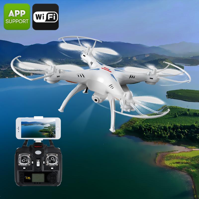 X5SW Quadcopter + Camera - Feature Image