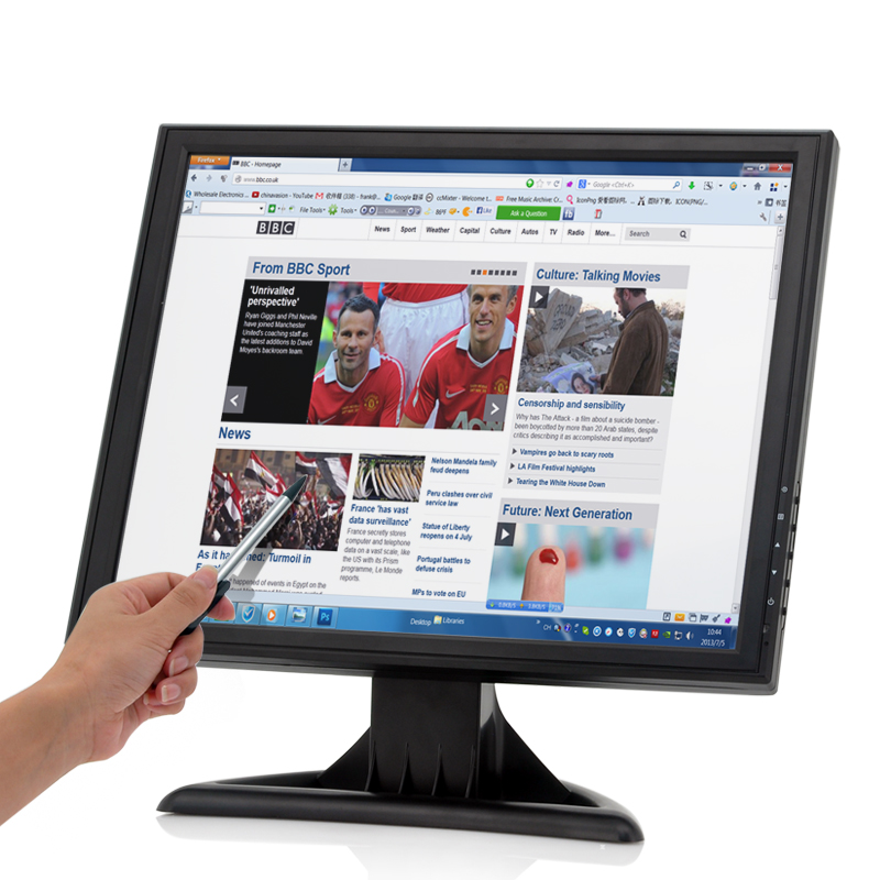 17 Inch High Res Touch Screen LCD Monitor - Feature Image