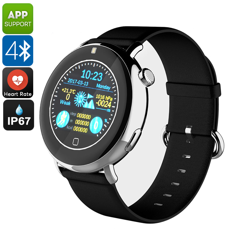 Bluetooth Smart Watch EXE C7 (Black) - Feature Image