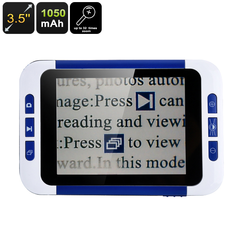 3.5-Inch Portable Digital Magnifier - Feature Image