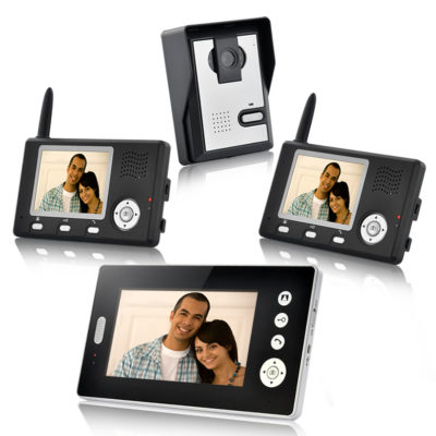 Wireless Video Door Phone - Triple Vision - Feature Image