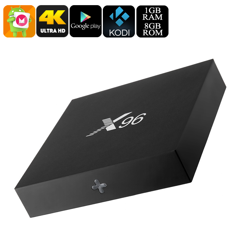 X96 Android 6.0 TV Box (8GB) - Feature Image