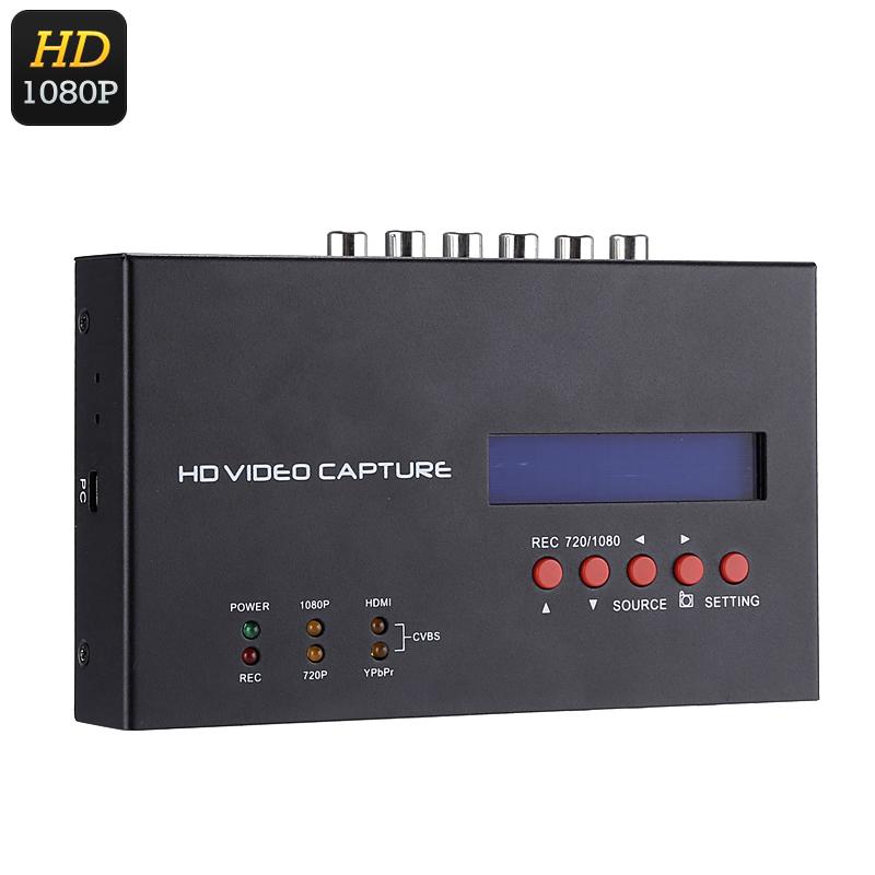 EZCAP 1080P HDMI Recorder - Feature Image