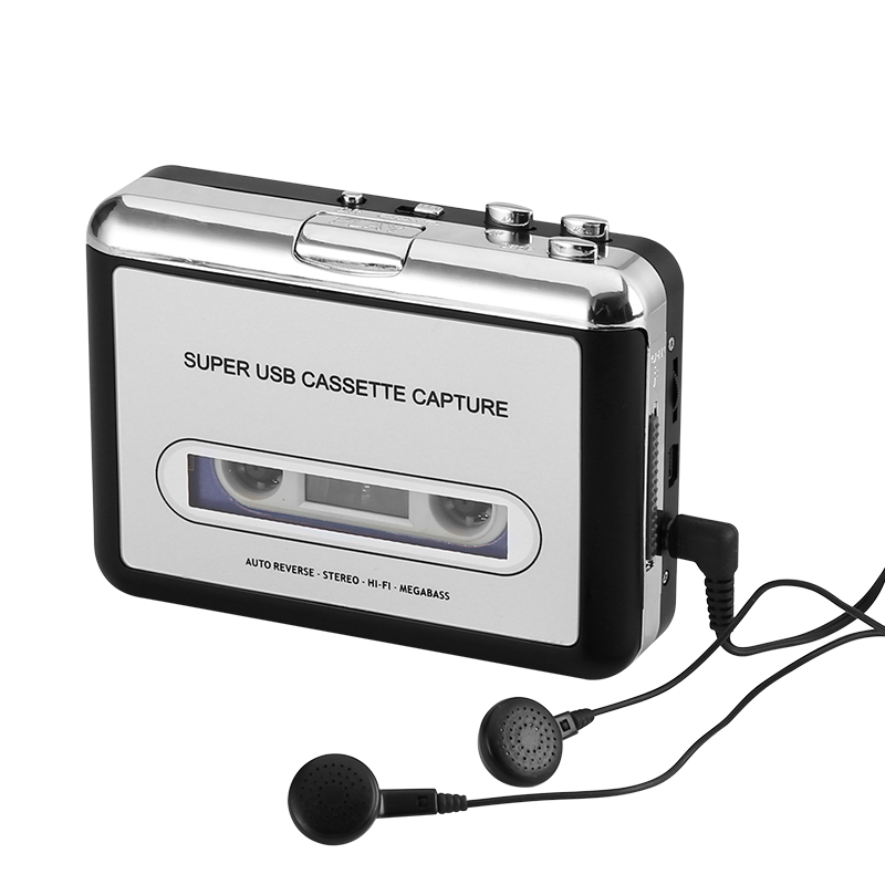 Cassette Tape-to-MP3 Converter - Feature Image