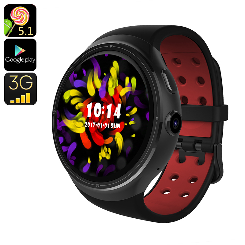 Z10 Android Smart Watch (Black) - Feature Image