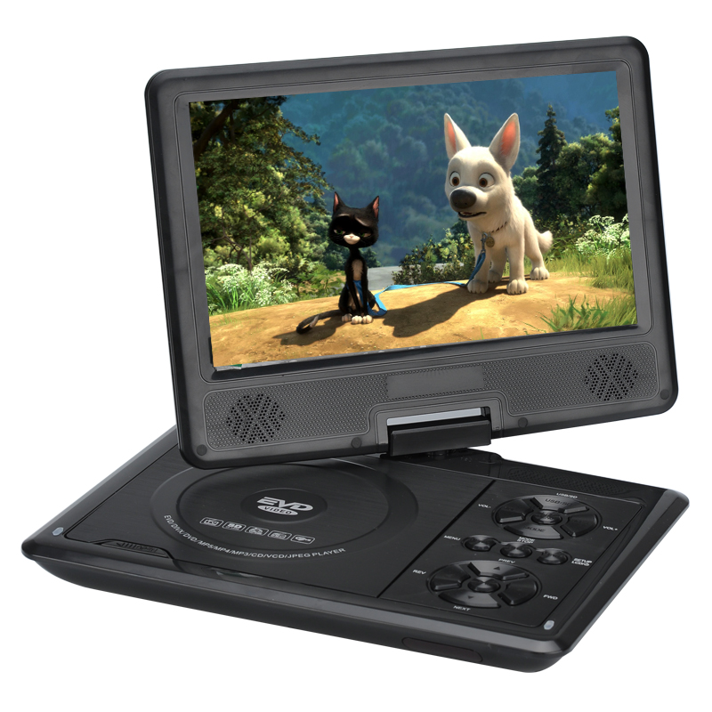 9 Inch Portable Region Free DVD Player - Image 3