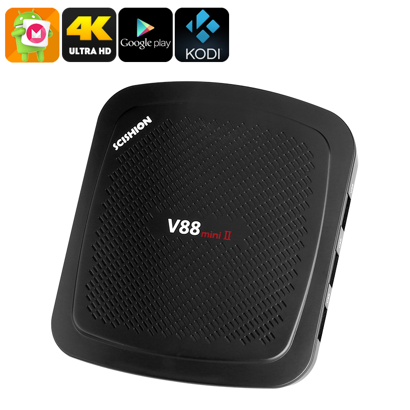 Android TV Box Scishion V88 (2GB RAM) - Feature Image