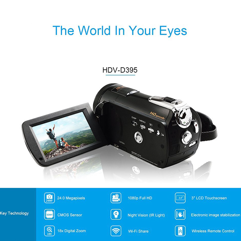 Ordro Full-HD Digital Video Camera - Image 3