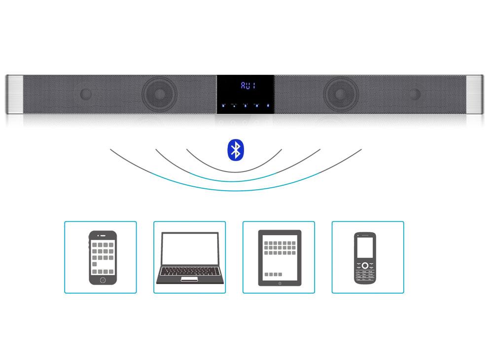 39.37-Inch 70 Watt 2.1 Channel Sound Bar - Image 3