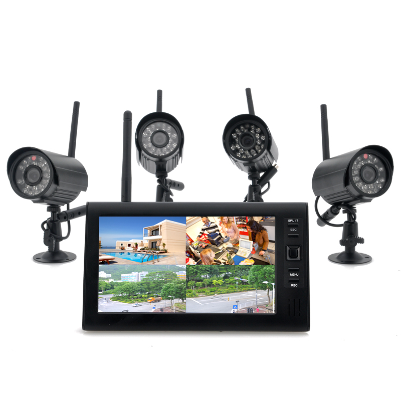Wireless Monitor + x4 Camera System - Securia - Feature Image