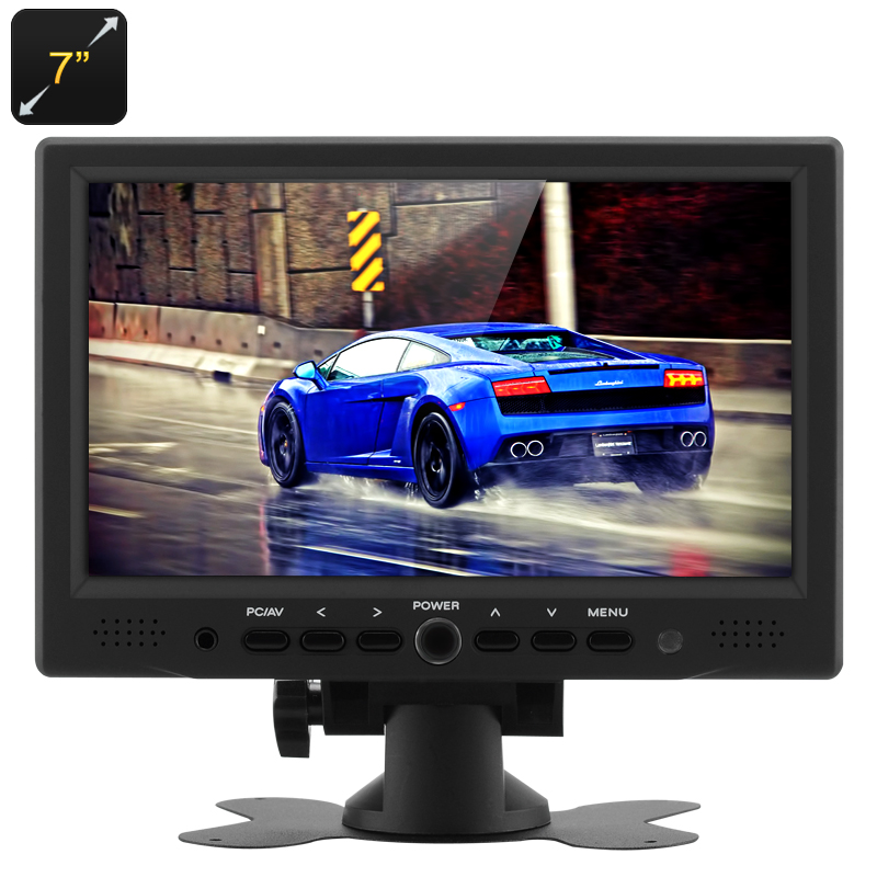 7 Inch TFT LCD Car Monitor - Feature Image