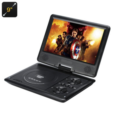 9 Inch Portable Region Free DVD Player_Feature