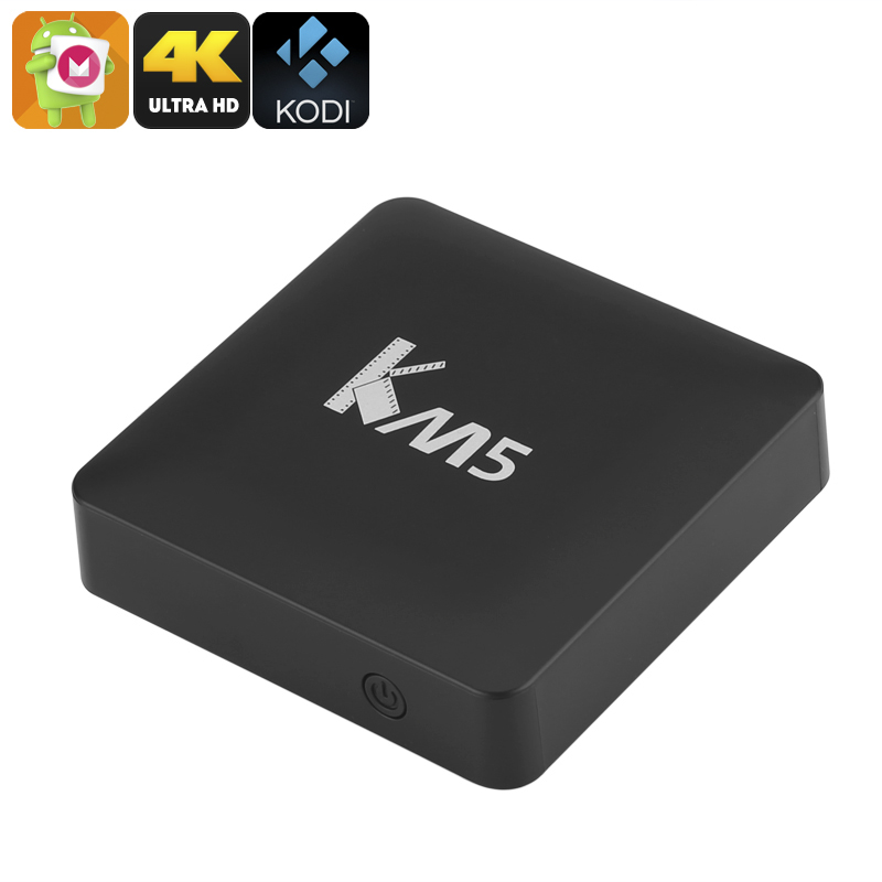 KM5 Android TV Box - Feature Image