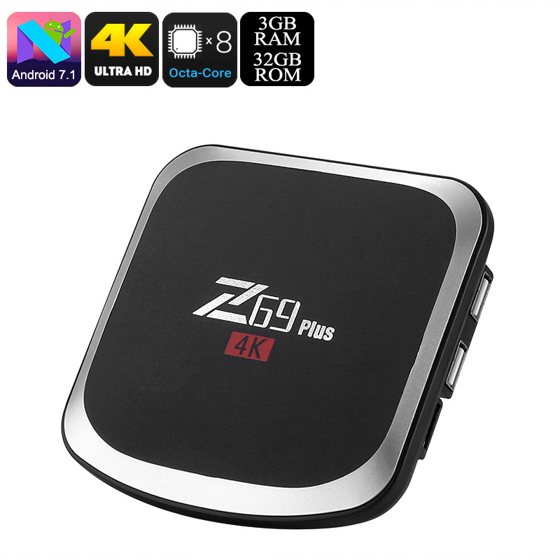 Z69 Plus Android TV Box - Feature Image