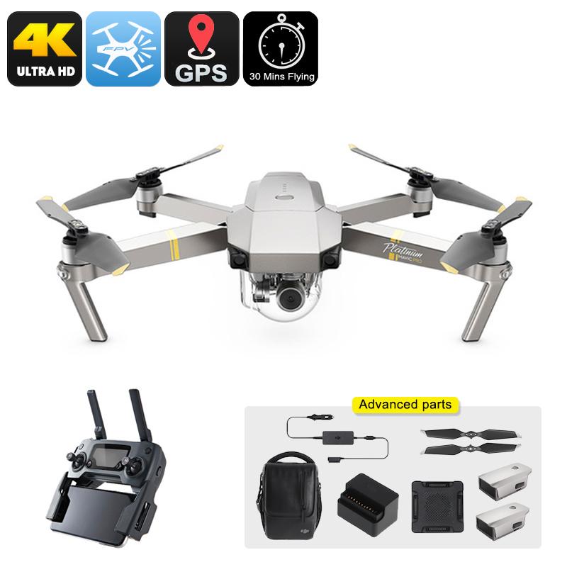 DJI Mavic Pro Platinum Drone Combo - Feature Image