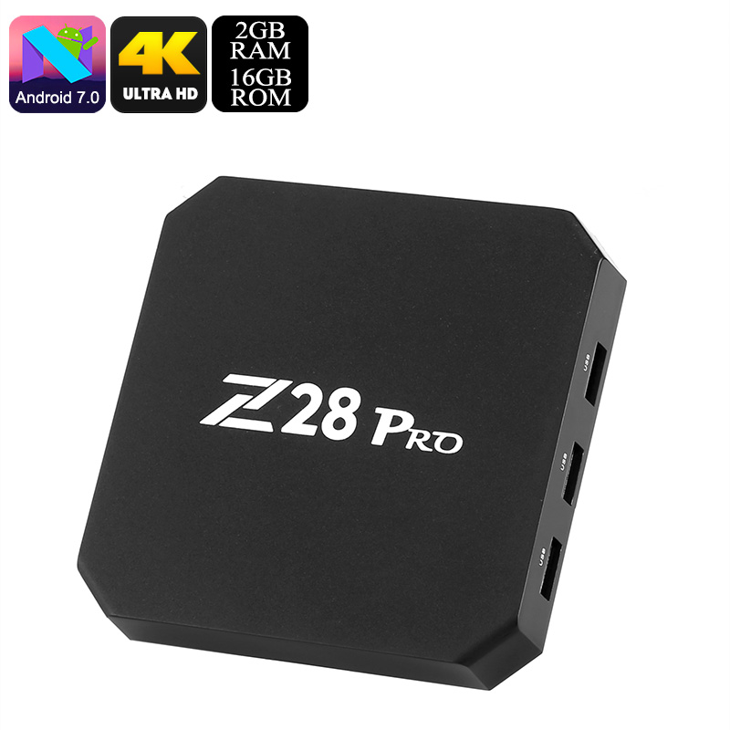 Z28 Pro Android TV Box - Feature Image