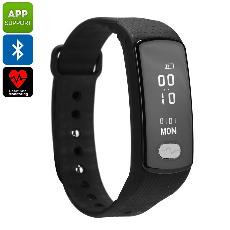 Bluetooth Fitness Tracker Bracelet - Feature Image