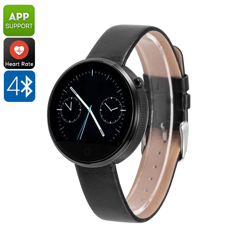 DM360 Smart Watch (Black) - Feature Image