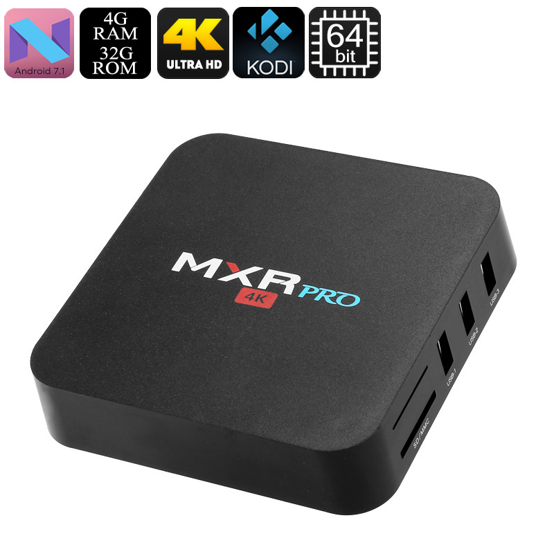 MXR Pro Android TV Box - Feature Image