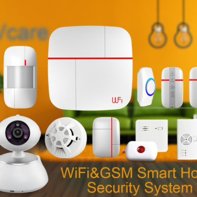 Vcare Home Security System - Feature Image