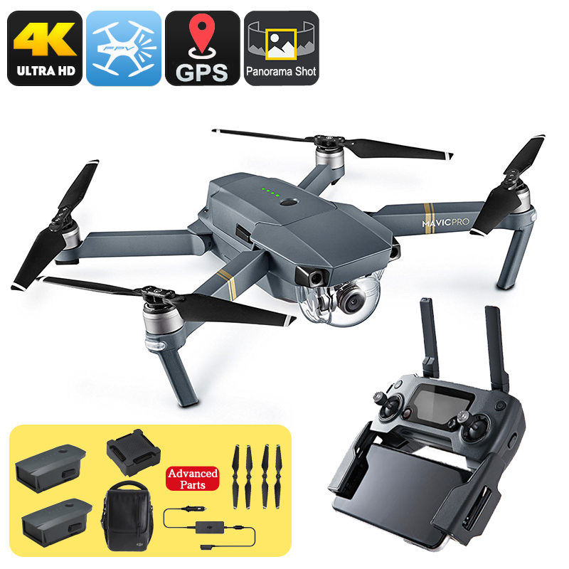 DJI Mavic Pro Camera Drone Combo Pack - Feature Image
