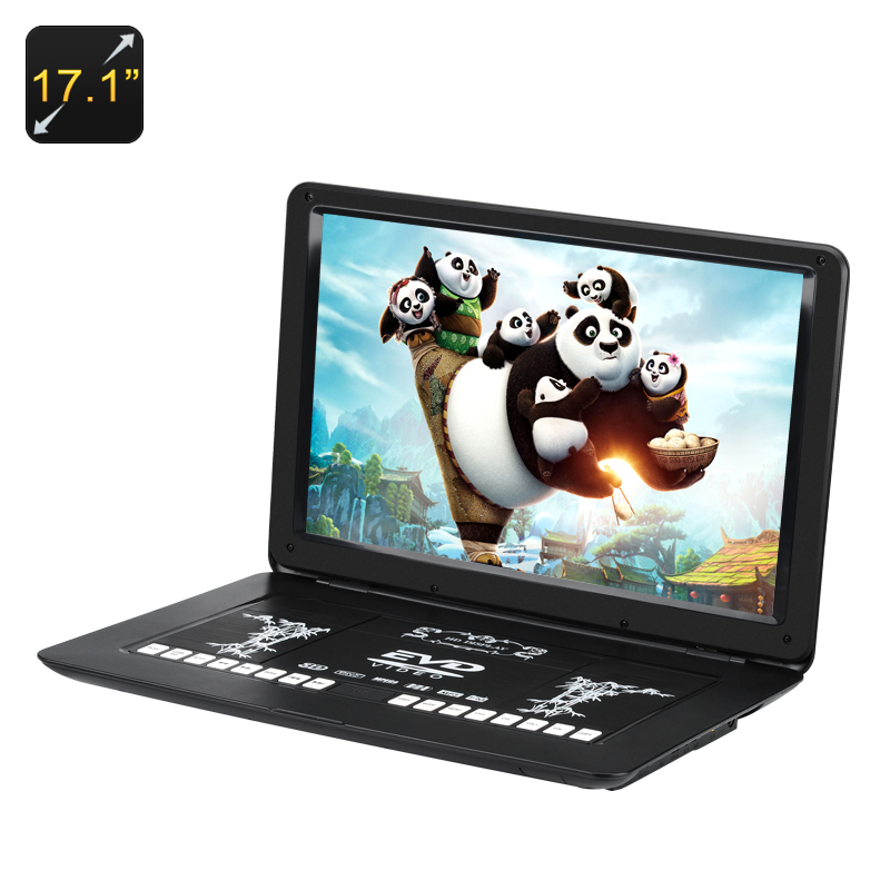 17.1 Inch Portable DVD Player - Feature Image