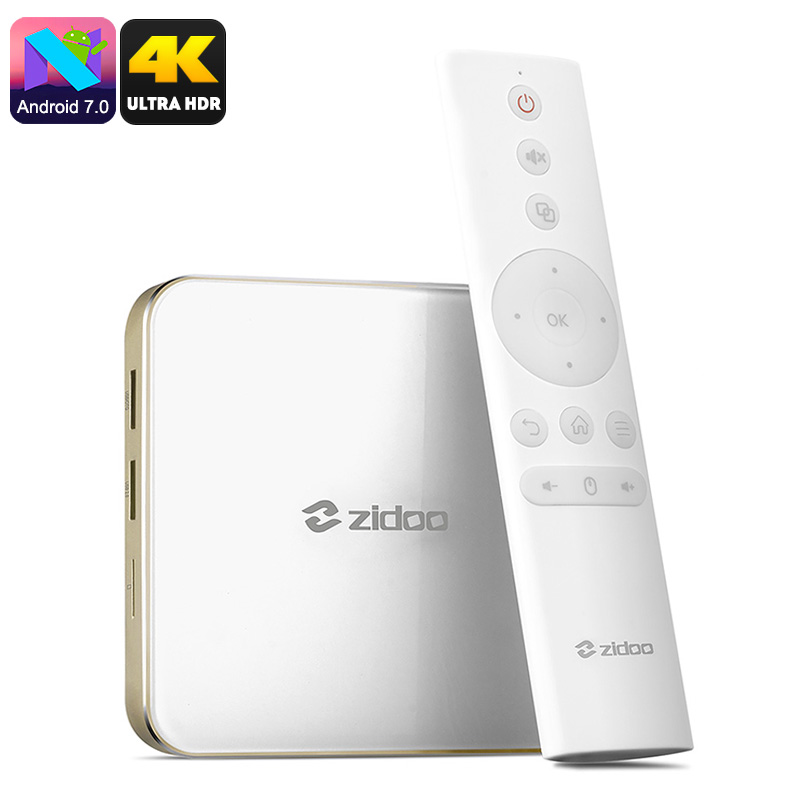 Zidoo H6 Pro Android TV Box - Feature Image