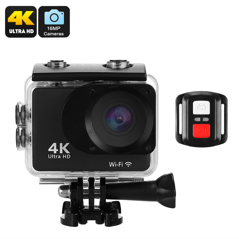 K2T Sports Action Camera - Feature Image