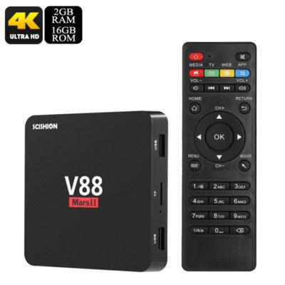 Scishion V88 Mars 2 TV Box (2+16) - Feature Image