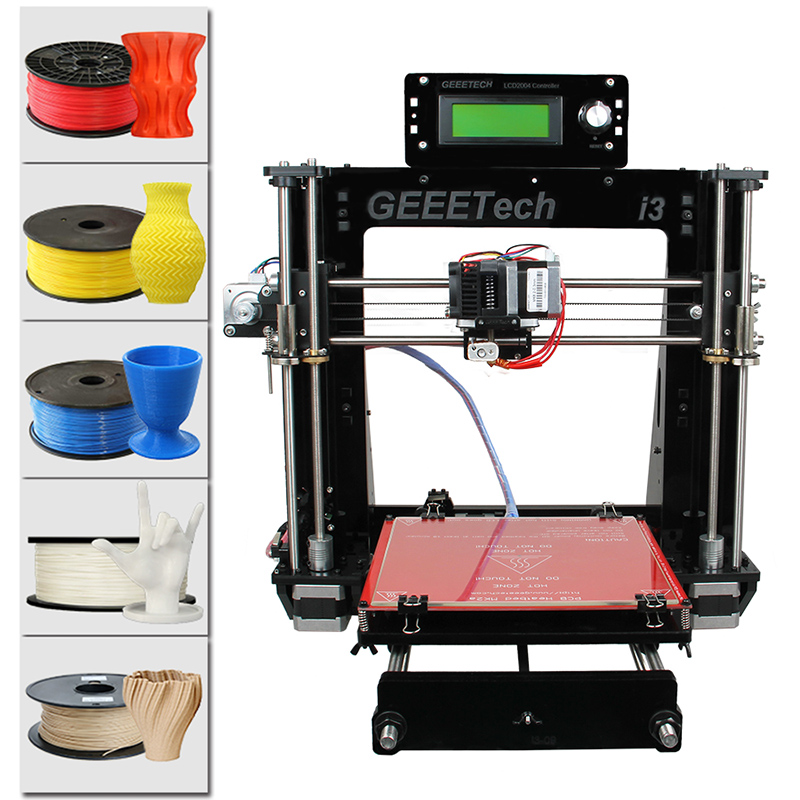 Geeetech Acrylic I3 Pro B DIY 3D Printer - Feature Image